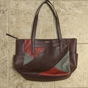 Multicolored shoulder bag by Relic